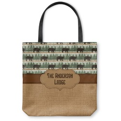 Cabin Canvas Tote Bag (Personalized)