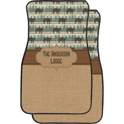 Cabin Car Floor Mats (Front Seat) (Personalized)