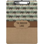 Cabin Clipboard (Personalized)