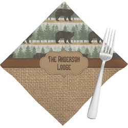 Cabin Napkins (Set of 4) (Personalized)