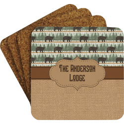 Cabin Coaster Set (Personalized)