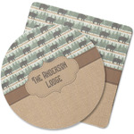 Cabin Rubber Backed Coaster (Personalized)