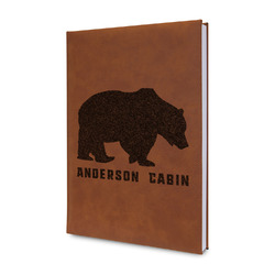 Cabin Leatherette Journal (Personalized)