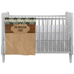 Cabin Crib Comforter / Quilt (Personalized)