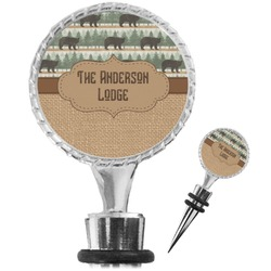 Cabin Wine Bottle Stopper (Personalized)
