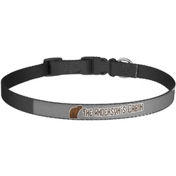 Cabin Dog Collar - Large (Personalized)