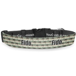 Cabin Deluxe Dog Collar (Personalized)