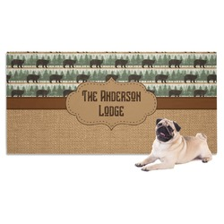Cabin Dog Towel (Personalized)