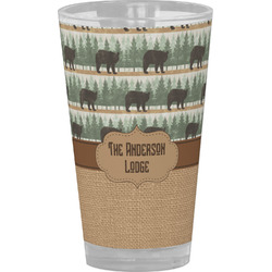 Cabin Drinking / Pint Glass (Personalized)