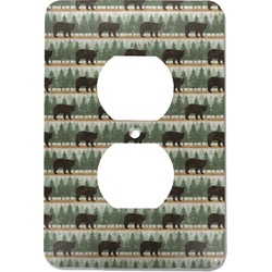 Cabin Electric Outlet Plate (Personalized)