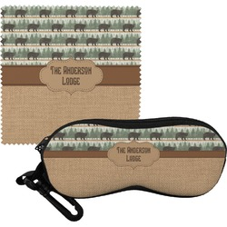 Cabin Eyeglass Case & Cloth (Personalized)