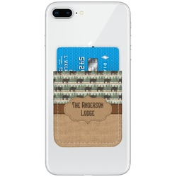 Cabin Genuine Leather Adhesive Phone Wallet (Personalized)