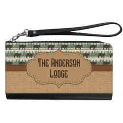 Cabin Genuine Leather Smartphone Wrist Wallet (Personalized)
