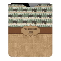 Cabin Genuine Leather iPad Sleeve (Personalized)