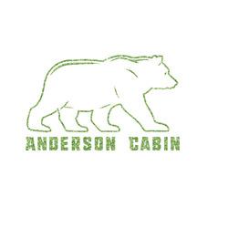 Cabin Glitter Iron On Transfer- Custom Sized (Personalized)
