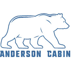 "Cabin Glitter Sticker Decal - Up to 9""X9"" (Personalized)"