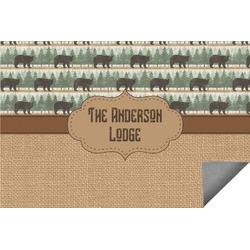 Cabin Indoor / Outdoor Rug (Personalized)