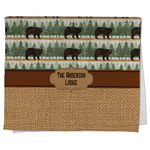 Cabin Kitchen Towel - Full Print (Personalized)