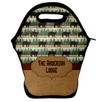 Cabin Lunch Bag w/ Name or Text