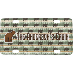 Cabin Mini / Bicycle License Plate (Personalized)