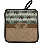 Cabin Pot Holder (Personalized)