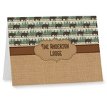 Cabin Note cards (Personalized)