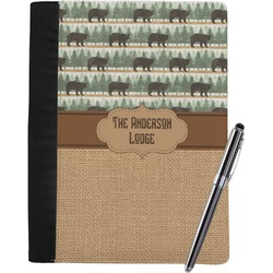 Cabin Notebook Padfolio (Personalized)