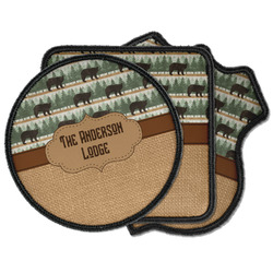 Cabin Iron on Patches (Personalized)