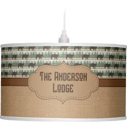 Cabin Drum Pendant Lamp (Personalized)