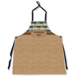 Cabin Apron Without Pockets w/ Name or Text