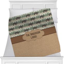 Cabin Minky Blanket (Personalized)