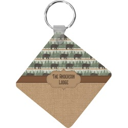 Cabin Diamond Key Chain (Personalized)