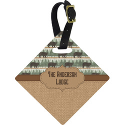 Cabin Diamond Luggage Tag (Personalized)