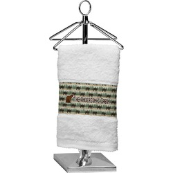 Cabin Finger Tip Towel (Personalized)