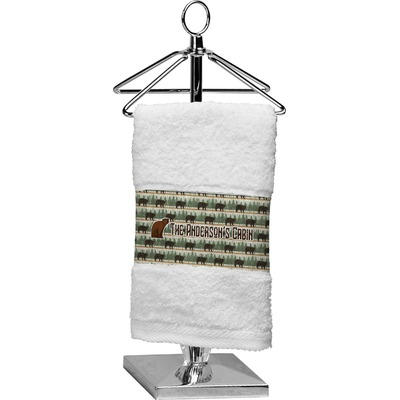Cabin Cotton Finger Tip Towel (Personalized)