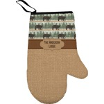 Cabin Oven Mitt (Personalized)
