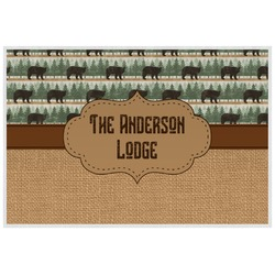 Cabin Placemat (Laminated) (Personalized)