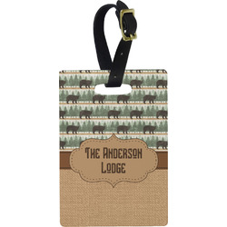 Cabin Rectangular Luggage Tag (Personalized)