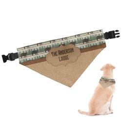Cabin Dog Bandana (Personalized)