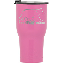 Cabin RTIC Tumbler - Pink (Personalized)