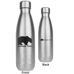 Cabin RTIC Bottle - Silver - Engraved Front & Back (Personalized)