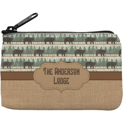 Cabin Rectangular Coin Purse (Personalized)