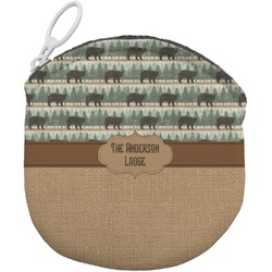 Cabin Round Coin Purse (Personalized)