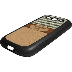 Cabin Rubber Samsung Galaxy 3 Phone Case (Personalized)