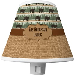 Cabin Shade Night Light (Personalized)