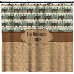 Cabin Shower Curtain (Personalized)