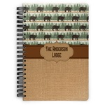 Cabin Spiral Bound Notebook (Personalized)