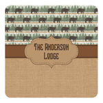 Cabin Square Decal - Custom Size (Personalized)