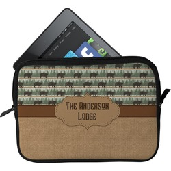 Cabin Tablet Case / Sleeve - Small (Personalized)