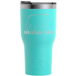 Cabin RTIC Tumbler - Teal - 30 oz (Personalized)